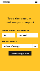 Utilities customers inside